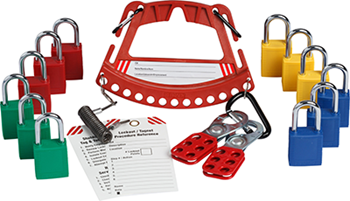 Safety Lock and Tag Carrier